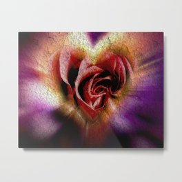 Red Rose for You Metal Print