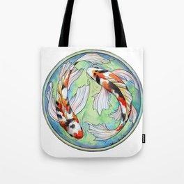 Koi Harmony Tote Bag