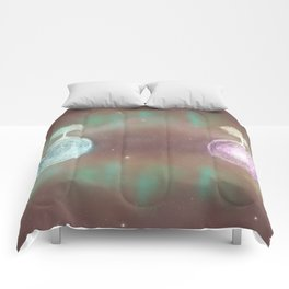 Parallel Universes II Comforters
