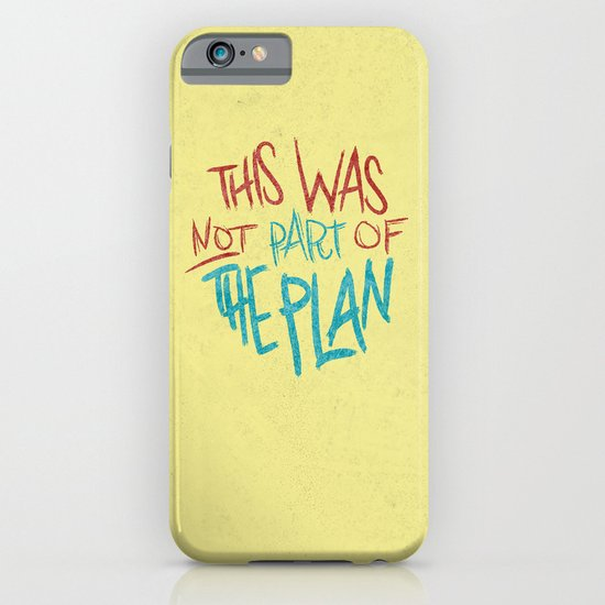 THE PLAN iPhone & iPod Case