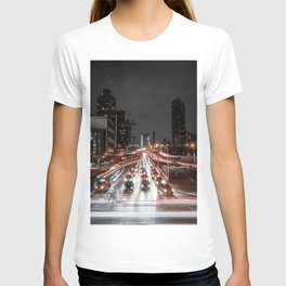 Taxi Trails T-shirt