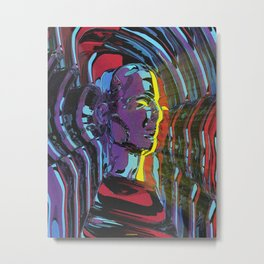 Inner Thoughts Metal Print