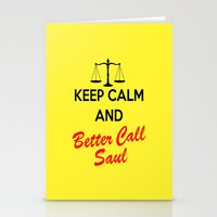 lawyer Stationery Cards featuring Better Call Saul by DeBUM