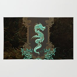 Awesome chinese dragon Rug