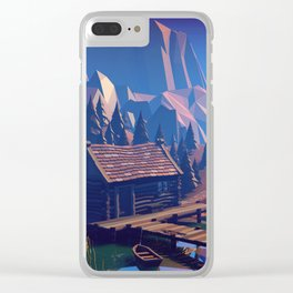 Boat Trip II - The Ruins Clear iPhone Case