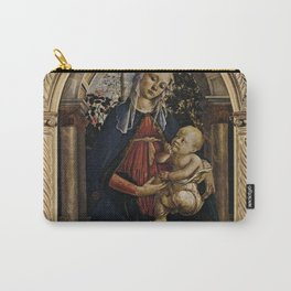Sandro Botticelli - Madonna of the Rose Garden Carry-All Pouch