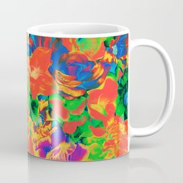 Flower Bursts Never Die Coffee Mug