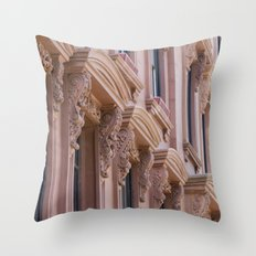 Brooklyn Brownstone Throw Pillow