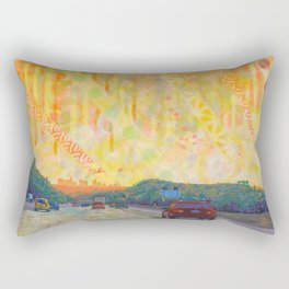 The Early Years Orange Rectangular Pillow
