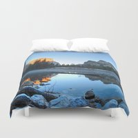 yosemite Duvet Covers featuring Yosemite by Kelly Moncure