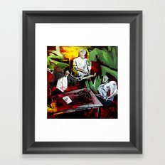 Contract Framed Art Print