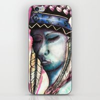 native american iPhone & iPod Skins featuring Native by Siriusreno