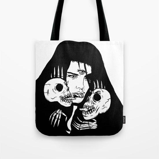 Lady Death Trip Tote Bag