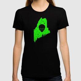 UFO Experience Investigator UFO Maine UFO Hunting T-shirt
