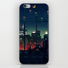 A Quiet Night iPhone Skin