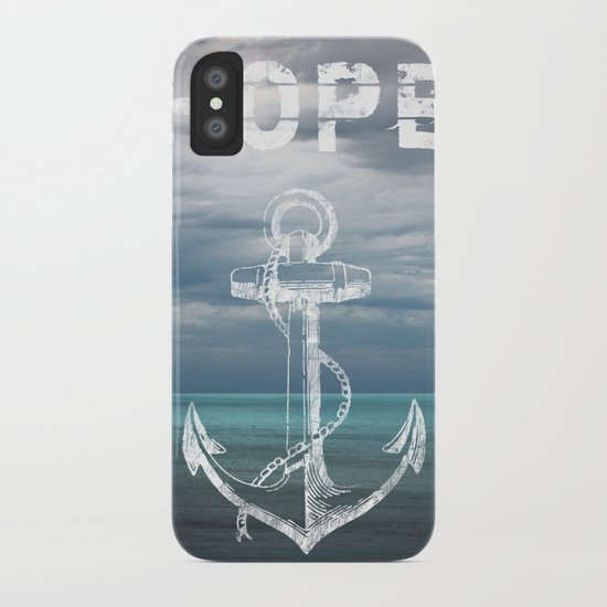 Hope Anchor iPhone Case
