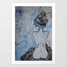 Man Ray inspired Art Print