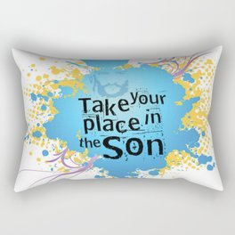 Take your place in the Son Rectangular Pillow