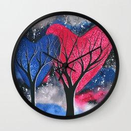 Night Romance Wall Clock