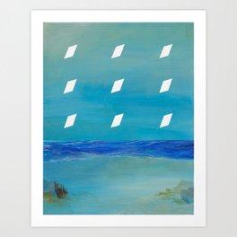 Night Imprint Art Print