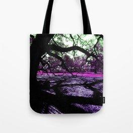 Oak Shadows Pink Tote Bag