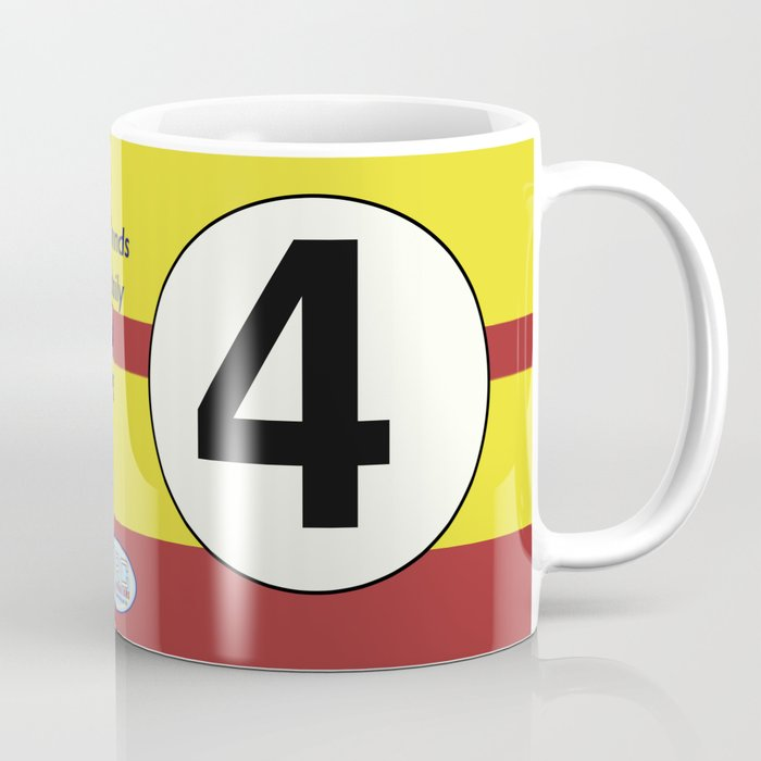 SRC Preparations. Racecar Rebels. 4 Coffee Mug