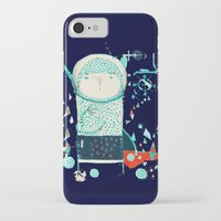 alien iPhone & iPod Cases featuring Alien by Nayoun Kim