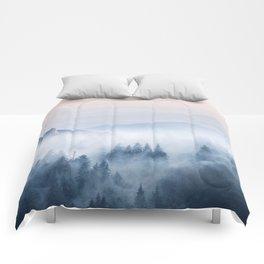 Pastel landscape 03 Comforters