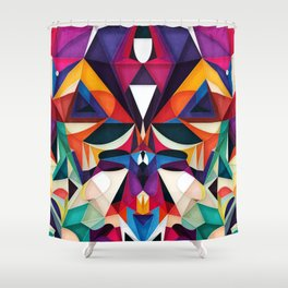Emotion in Motion Shower Curtain