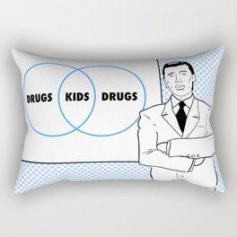 Brass Eye Rectangular Pillow