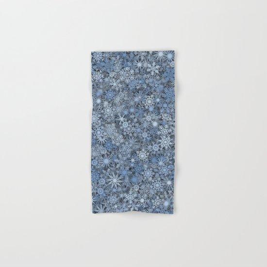 Snowflakes Hand & Bath Towel