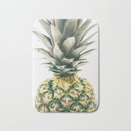 Pineapple Close-Up Bath Mat