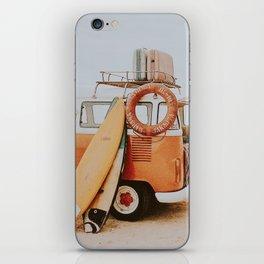 lets surf viii iPhone Skin