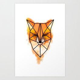 Fox (Mulder) Art Print