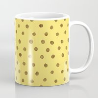 polkadot Mugs featuring Everyone Love A Polkadot by Katie Copeland