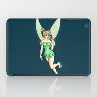 tinker bell iPad Cases featuring Tinker Bell Selfie by Hungry Designs