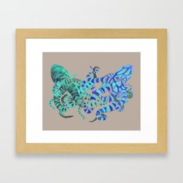 Tangled No. 2 Framed Art Print