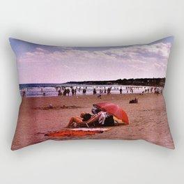 ogunquit beach Rectangular Pillow