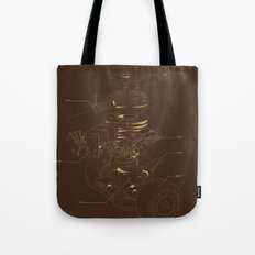 Recycling Robot Tote Bag