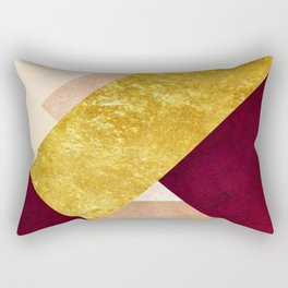 Modern Mountain No3-P3 Rectangular Pillow