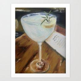 Gin Fizz Art Print