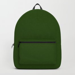 Tread Lightly ~ Forest Green Backpack