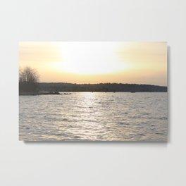 Kits Beach Sunset 2 Metal Print