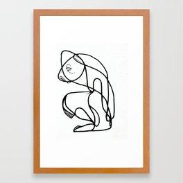 Snoddy Time Framed Art Print