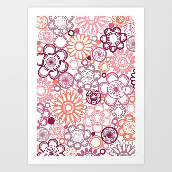 BOLD & BEAUTIFUL girlie Art Print