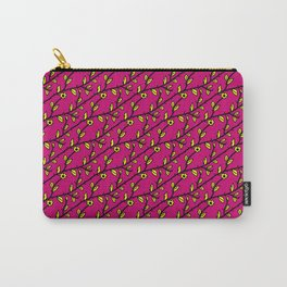 Patterns: Yellow Flowers Carry-All Pouch