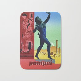 Pompei Pompeii Italian travel Bath Mat