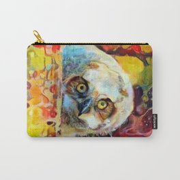 Hoo You Carry-All Pouch