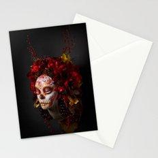 Crimson Havest Muertita Stationery Cards