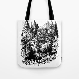 PACIFIC NORTHWEST SASQUATCH Tote Bag